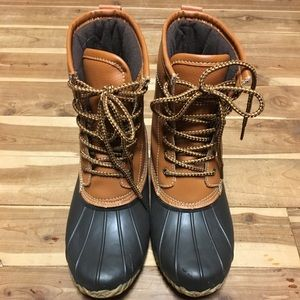 Duck boots!